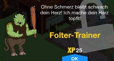 Folter Trainer