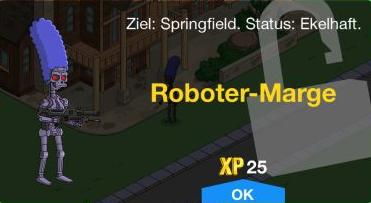 Roboter Marge