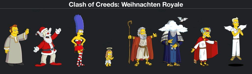 Clash of Creeds Weihnachten Royale k